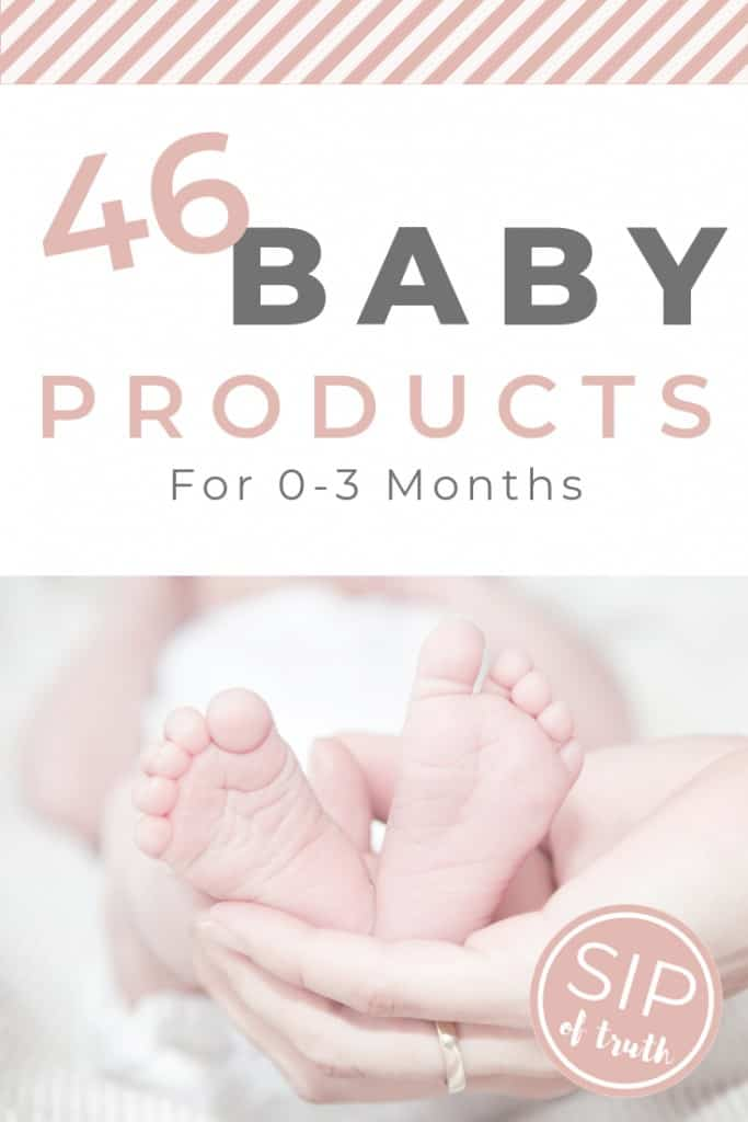 46 Baby Products You Need For Your Newborn / asipoftruth.com