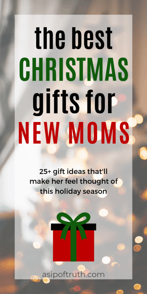 25+ thoughtful gifts to give to your favorite new mom. Looking for gifts for a first time new mom? You'll find the greatest gifts for pampering and self care on Amazon and more! #newmom #firsttimemom #christmasgifts #giftsfornewmoms (Best Gift Ideas for New Moms - A New Mom's Guide, Christmas Gifts for New Moms, christmas gifts for a new mom)