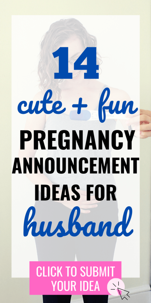 So, you're pregnant! YAY. Now, here are 14 fun and cute pregnancy announcement to husband ideas for you. Biggest tip: just tell him! #pregnancyannouncement #pregnancy #earlypregnancy