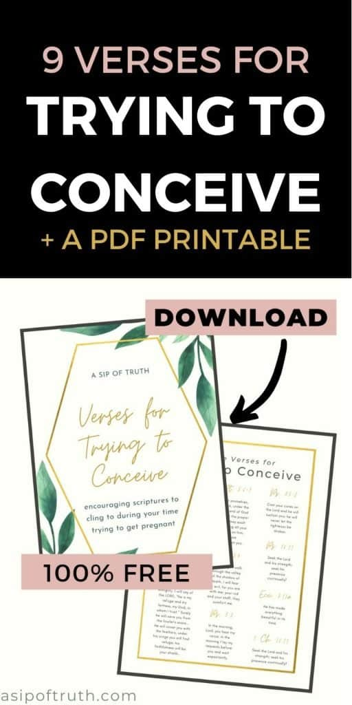 verses for trying to conceive
